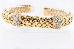 18Kt & Diamond Vanerie Bracelet by Tiffany & Co.