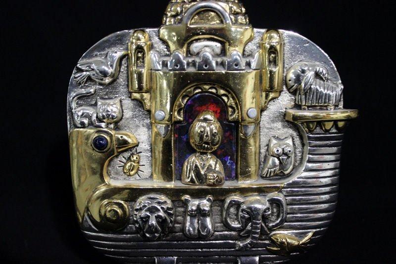 "Frank Meisler ""Noah's Ark"" Sculpture - 3"