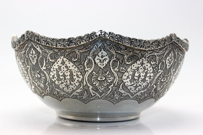 2 Pc. Persian Sterling Bowls - 3