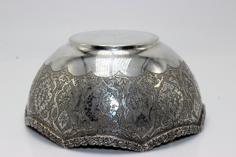 2 Pc. Persian Sterling Bowls - 4