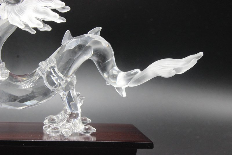 Swarovski Crystal Dragon Figure - 4