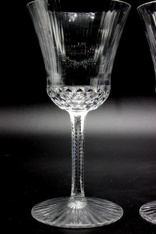 """8 Pc. St. Louis """"Apollo"""" Crystal White Wine Glasses - 4"""