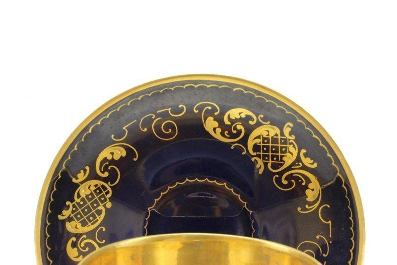 Antique Royal Vienna Hand Painted Porcelain Tea Cup & - 3