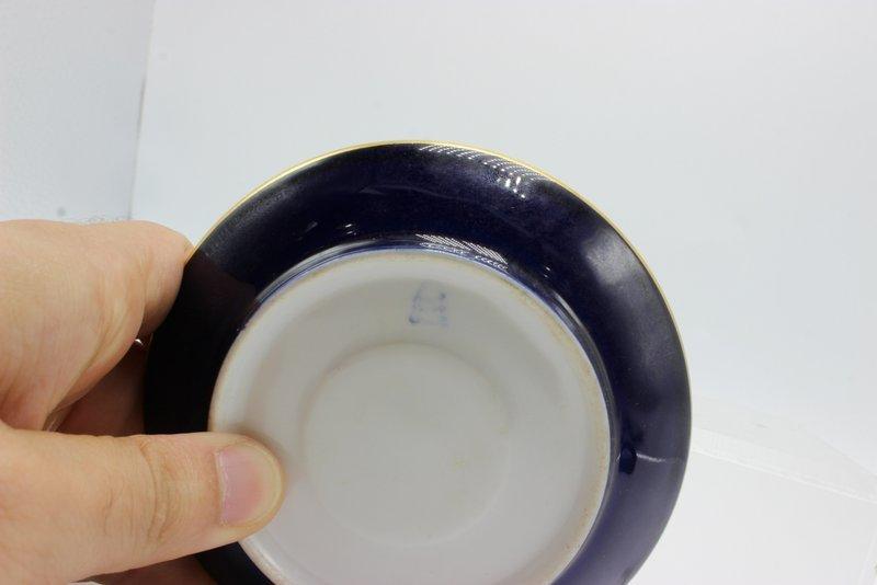 Antique Royal Vienna Hand Painted Porcelain Tea Cup & - 4