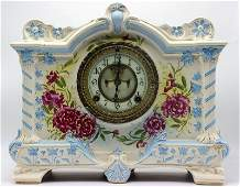 Royal Bonn Porcelain Mantel Clock