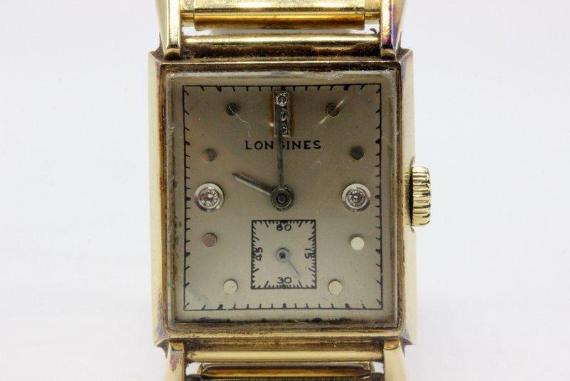 Vintage Longines 14Kt YG & Stainless Steel Men's Watch