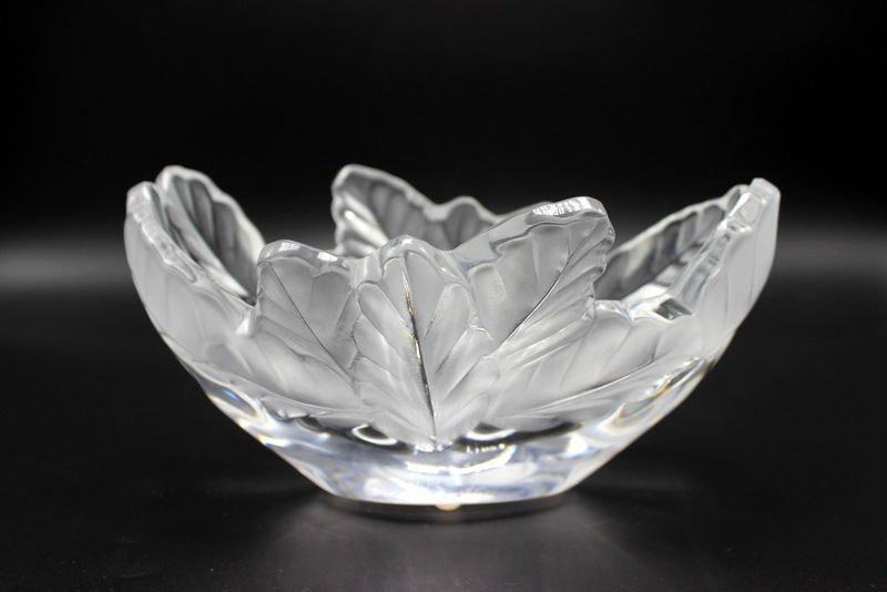 "Lalique ""Compregne"" Crystal Bowl"