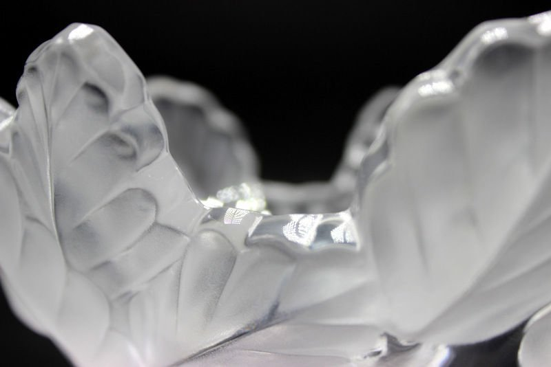 "Lalique ""Compregne"" Crystal Bowl - 2"