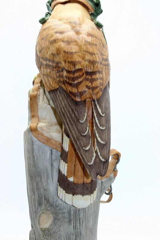 "Boehm ""Kestrel"" Bisque Figure - 6"