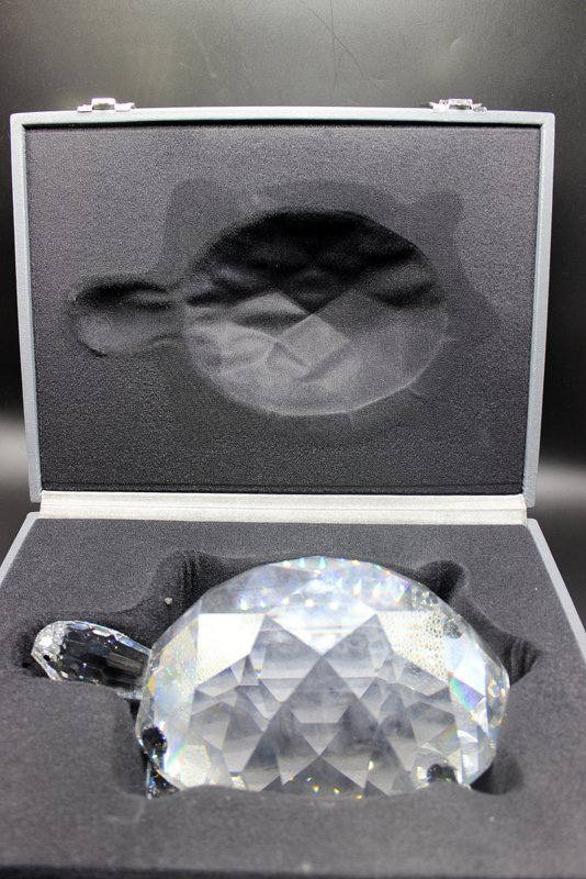 Swarovski Crystal Giant Turtle - 6