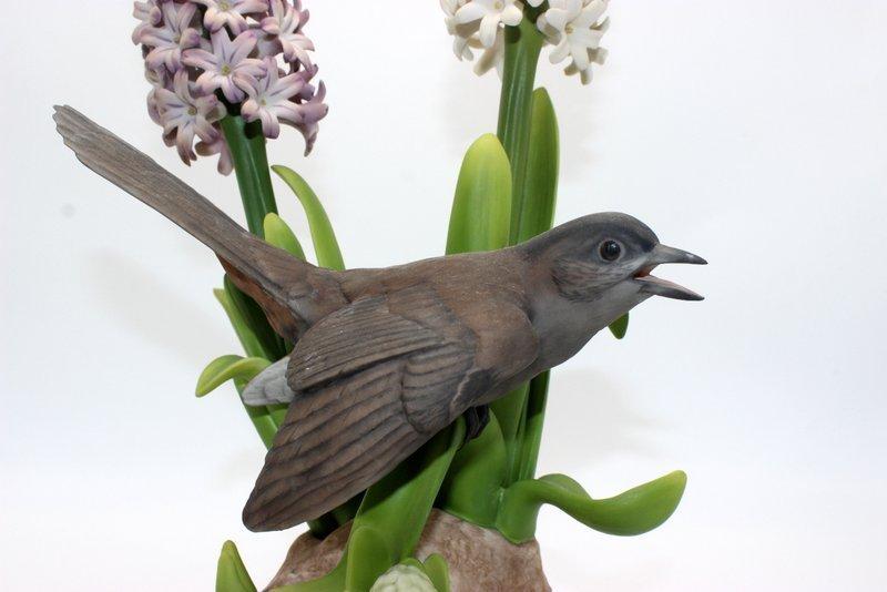 "Boehm ""Catbird"" Bisque Figure - 2"