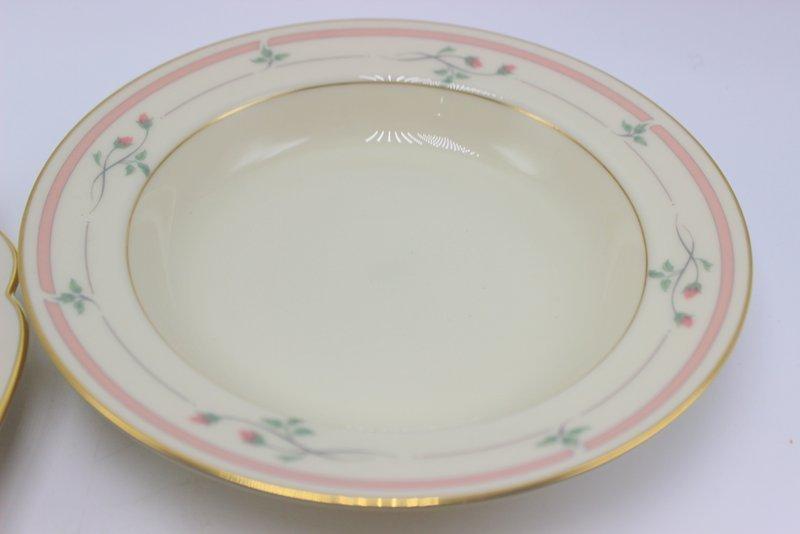 "97 Pc. Lenox ""Rose Manor"" Porcelain China Set - 2"