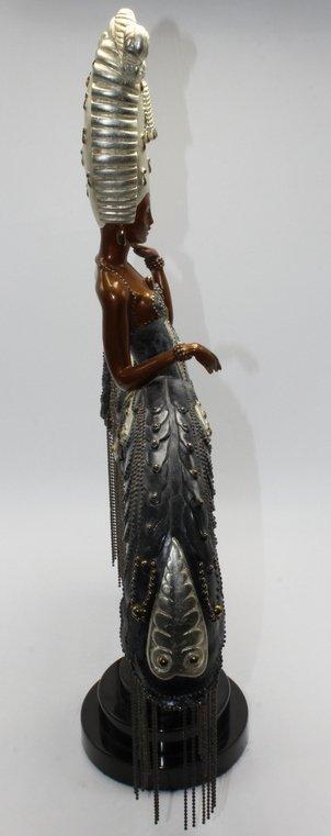 "Erte ""Her Secret Admirers"" Bronze Statue - 4"