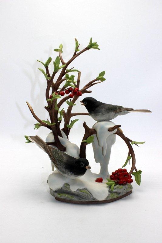 "Boehm ""Junco Hyemalis"" Porcelain Figure"