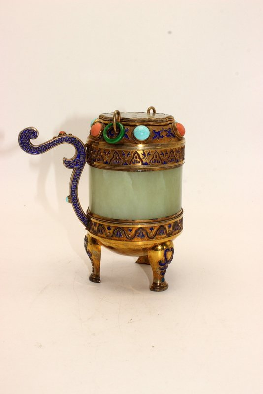 Beautiful Republic Period Chinese Handled Censer