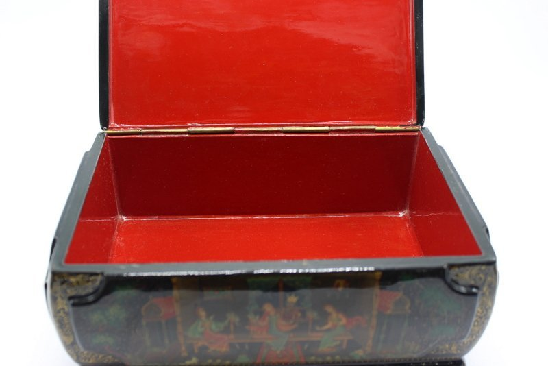 Large Russian Lacquer Box - 6