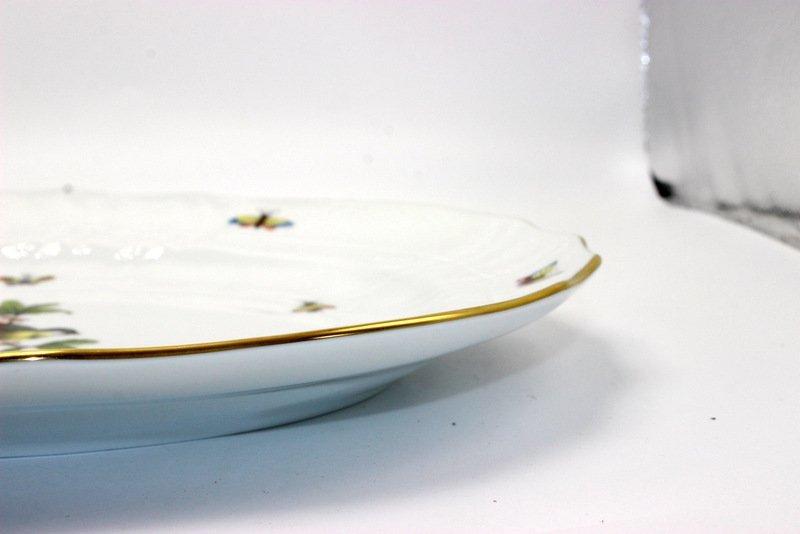 "Herend ""Rothschild"" Birds Porcelain Serving Dish - 4"