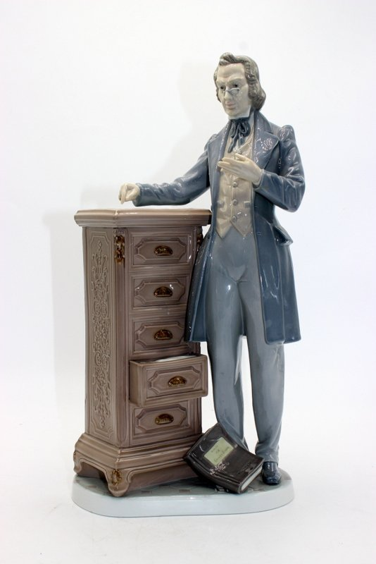 "Lladro ""The Lawyer"" #5213 Porcelain Figure"