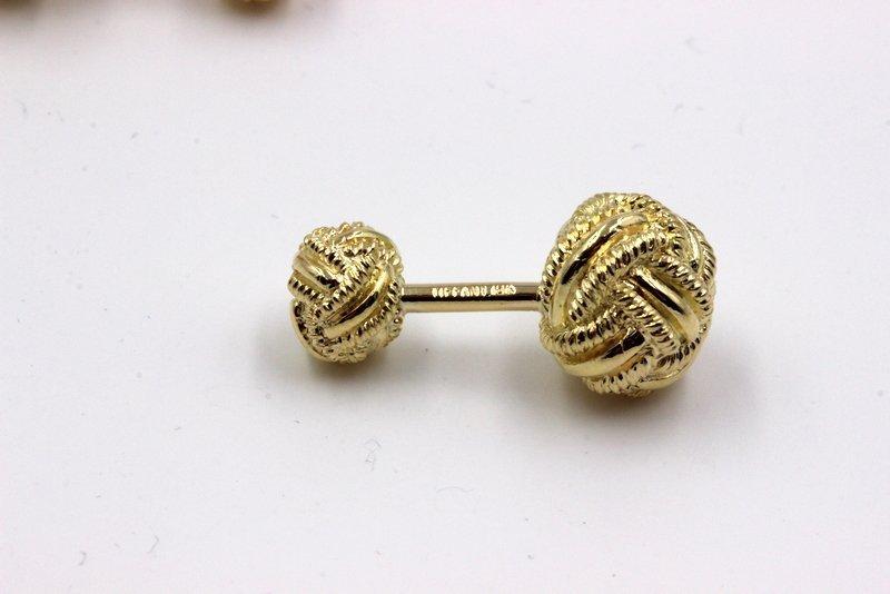 Tiffany & Co. Sclumberger 18K YG Cufflinks - 2