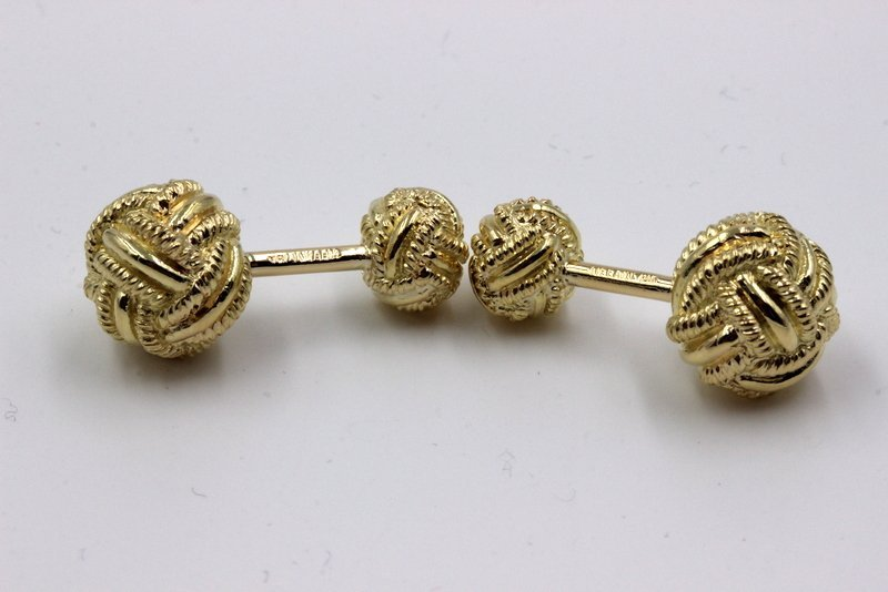 Tiffany & Co. Sclumberger 18K YG Cufflinks - 3