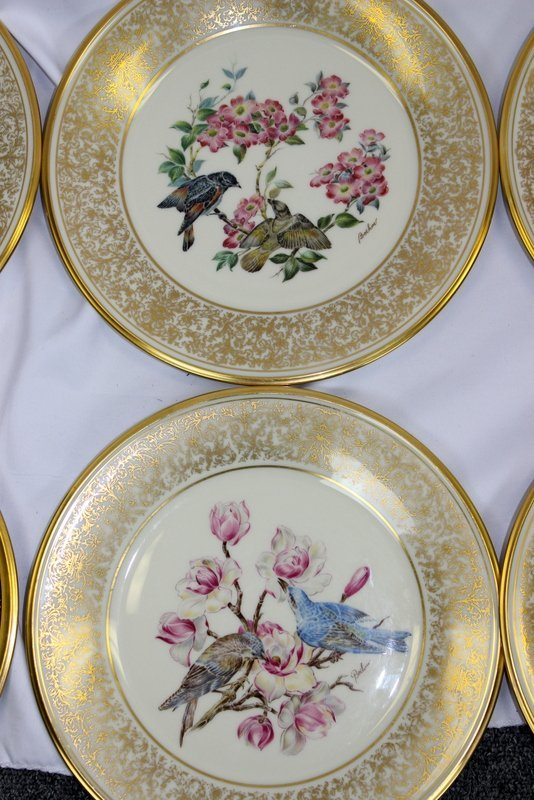 10 Lenox Plates Handpainted by Boehm - 3