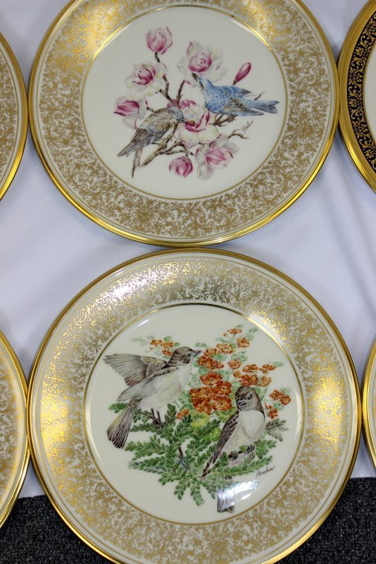 10 Lenox Plates Handpainted by Boehm - 4