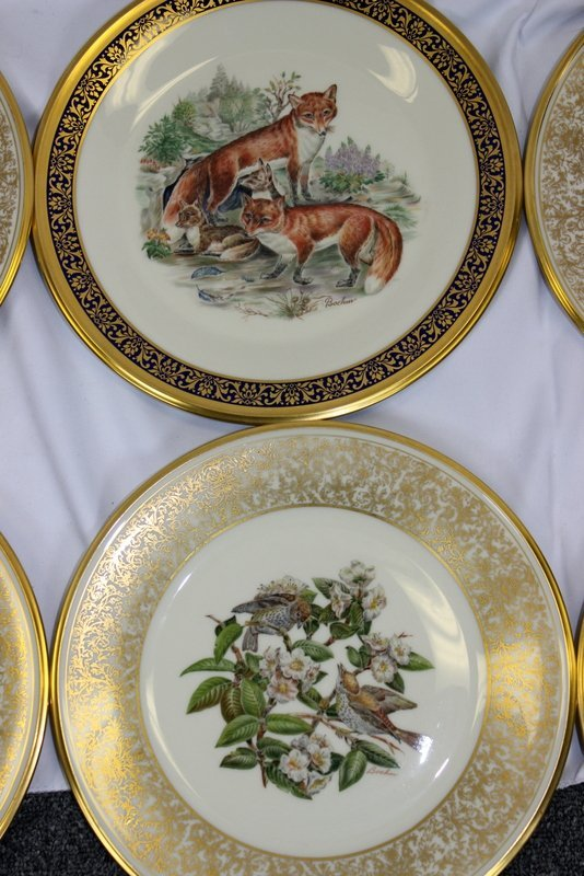 10 Lenox Plates Handpainted by Boehm - 5