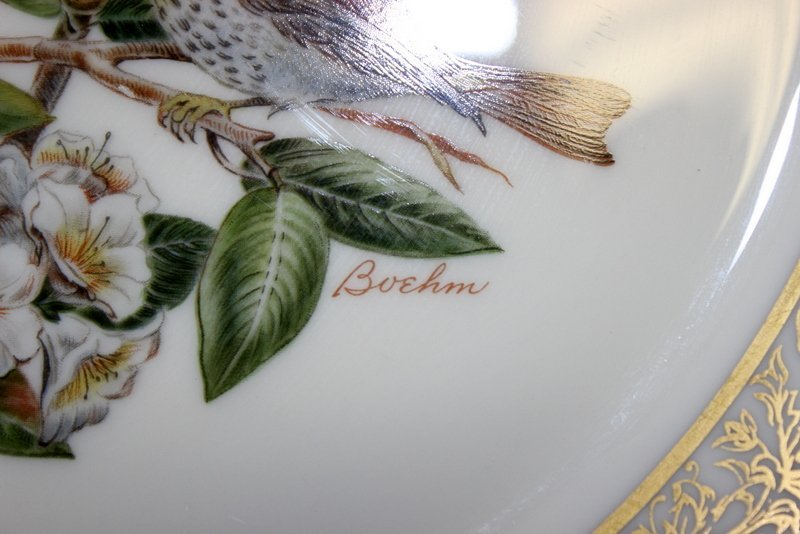 10 Lenox Plates Handpainted by Boehm - 7