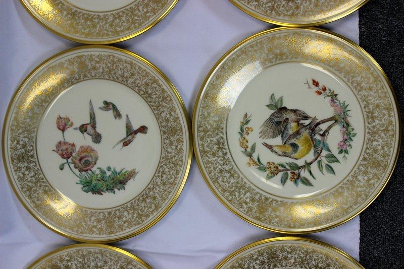 8 Lenox Plates Handpainted by Boehm - 3