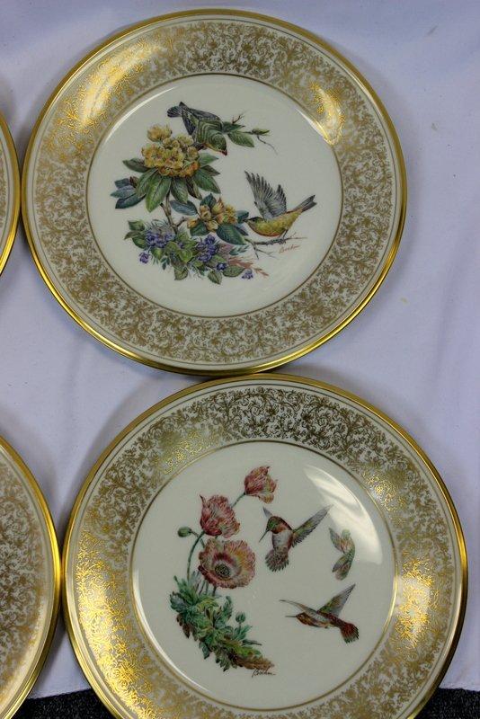 8 Lenox Plates Handpainted by Boehm - 5