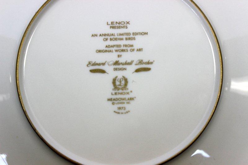 8 Lenox Plates Handpainted by Boehm - 7