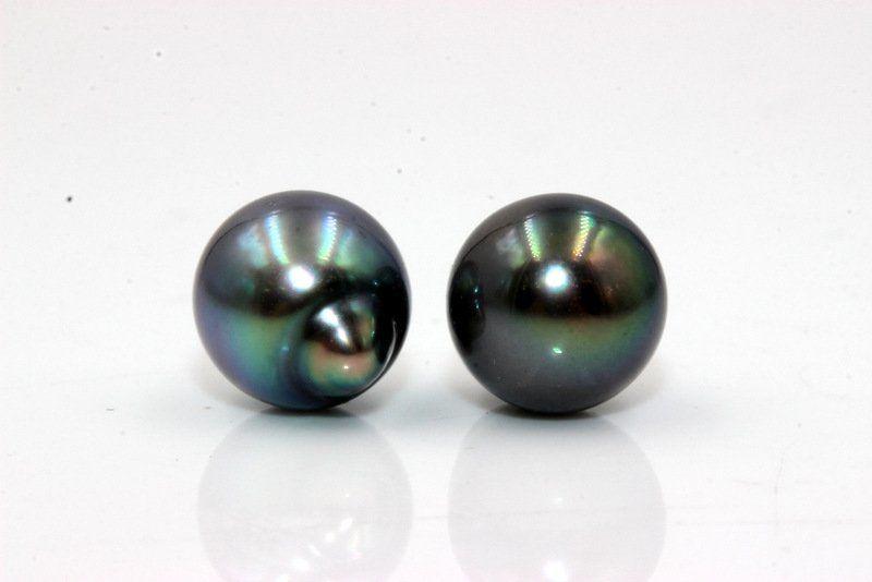 Natural Colored Tahitian Cultured Pearls