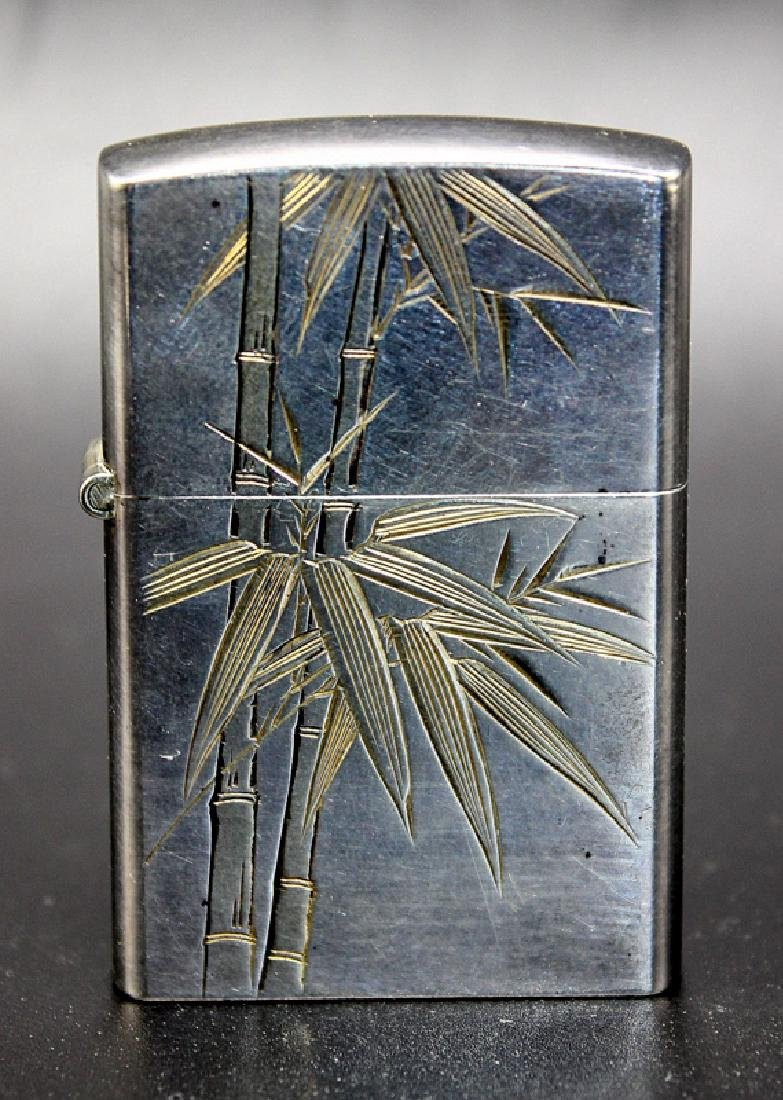 Chinese Sterling Zippo Type Windproof Lighter
