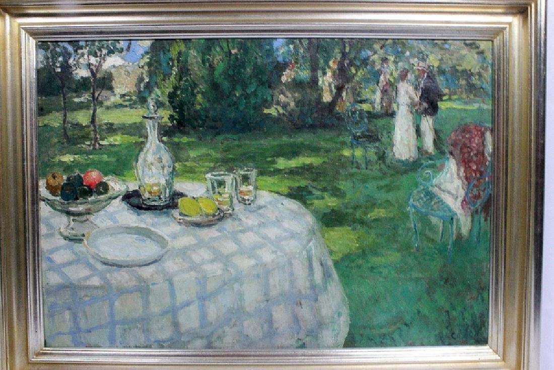 "Marcel Cosson (1878-1956) ""Landscape"" Oil on Canvas"