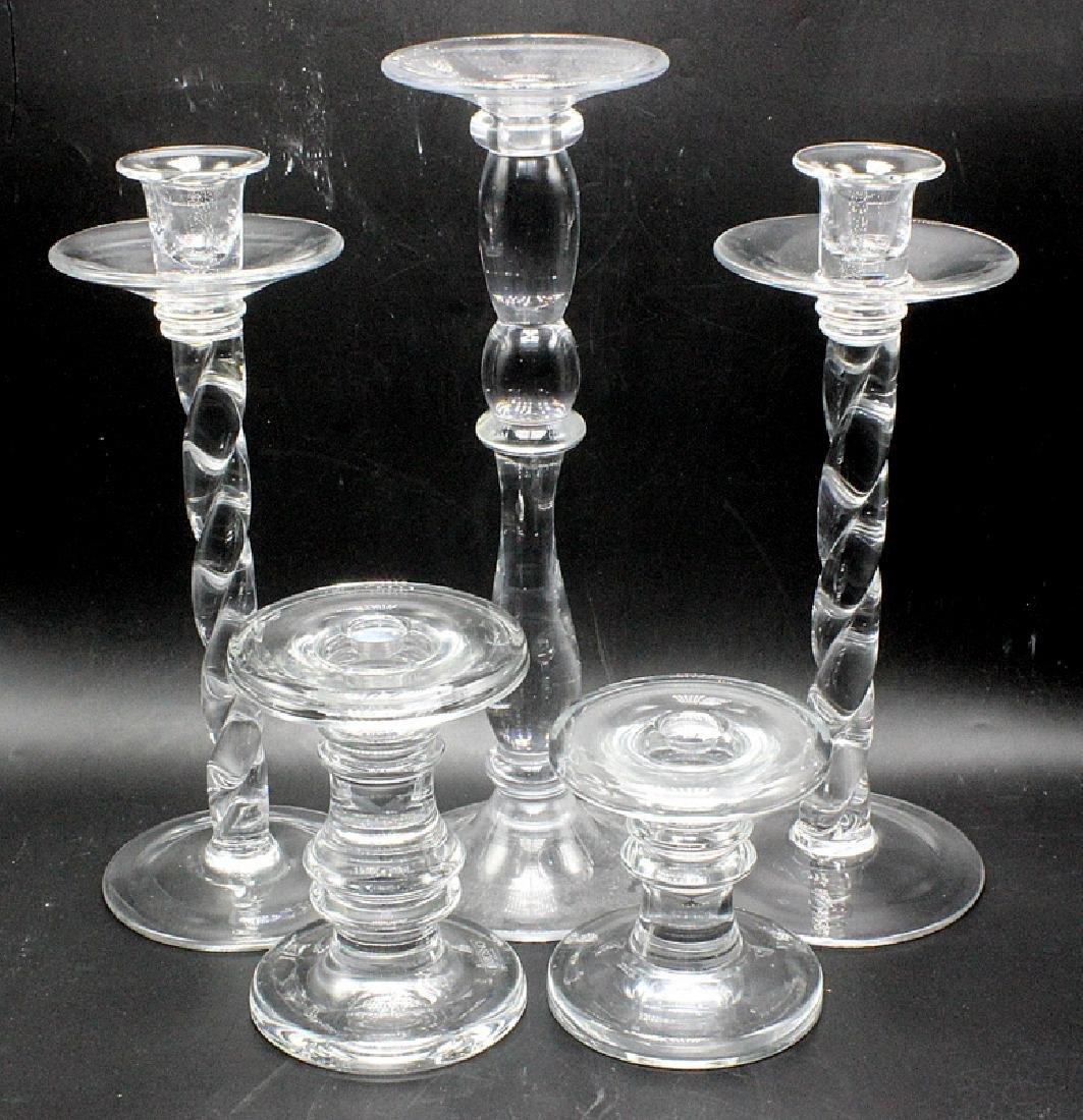 William Yeoward Crystal Candlesticks