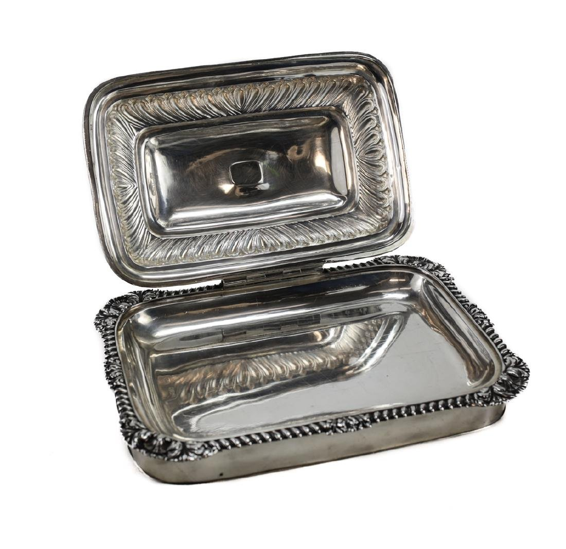 Georgian Silver Toasted Cheese Server / Chafing Dish - 3