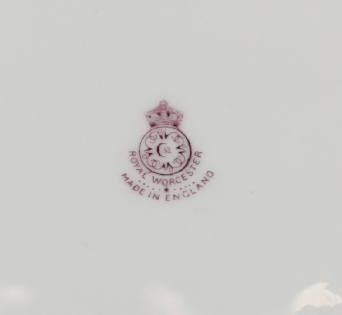 Six Royal Worcester Cabinet Plates Albert Shuck - 3