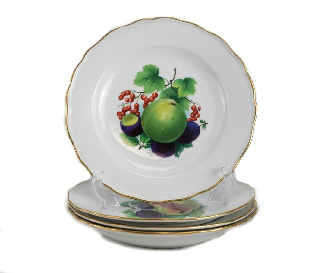 Meissen Porcelain Dinner Plates