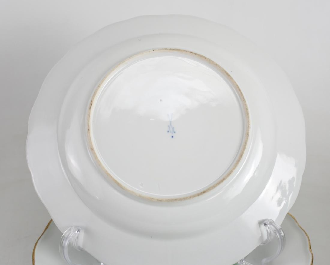 Meissen Porcelain Dinner Plates - 3