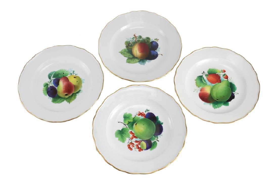 Meissen Porcelain Dinner Plates - 4