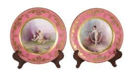 Lenox for Tiffany & Co. Porcelain Cabinet Plates