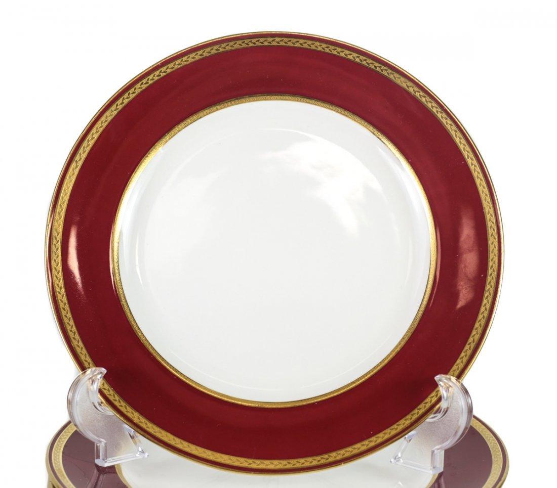 10 Minton for Tiffany & Co. Porcelain Plates - 2