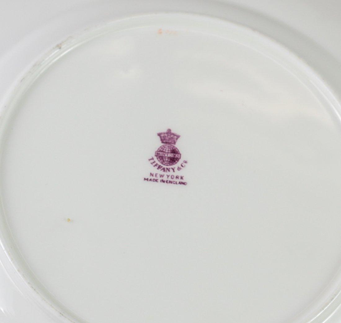 10 Minton for Tiffany & Co. Porcelain Plates - 3