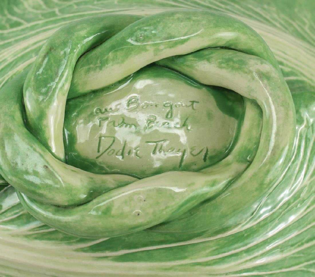 Dodie Thayer Lettuce Ware Serving Bowl - 4