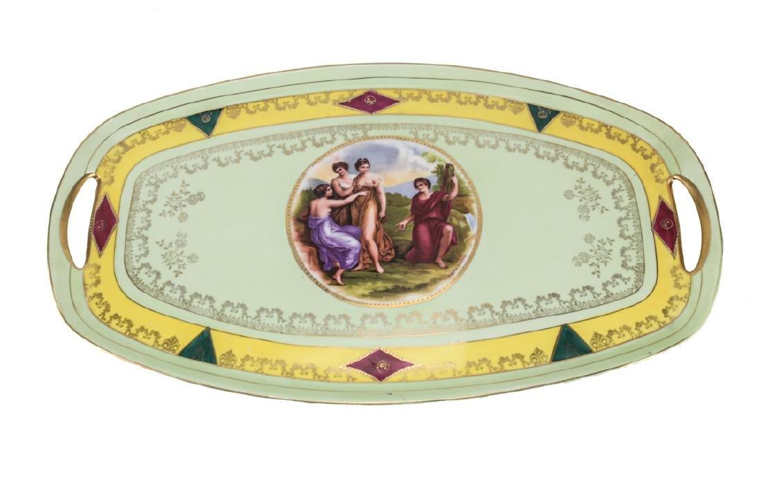 Angelica Kauffman Czech Porcelain Tea Set - 2