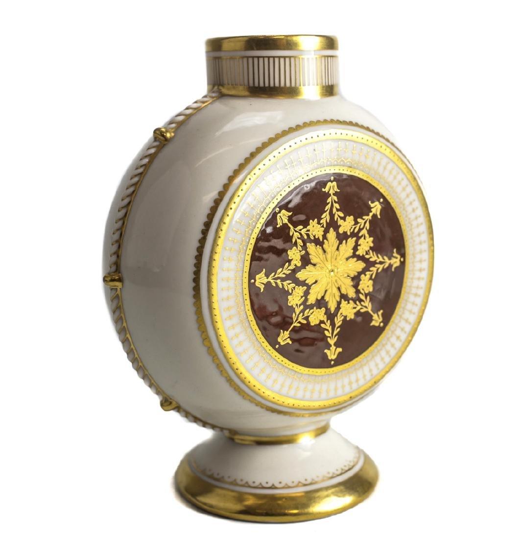 Minton Pate Sur Pate Porcelain Vase Alboin Birks - 2