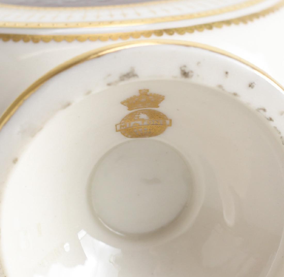Minton Pate Sur Pate Porcelain Vase Alboin Birks - 3