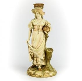 Royal Worcester Porcelain Figurine, Hadley