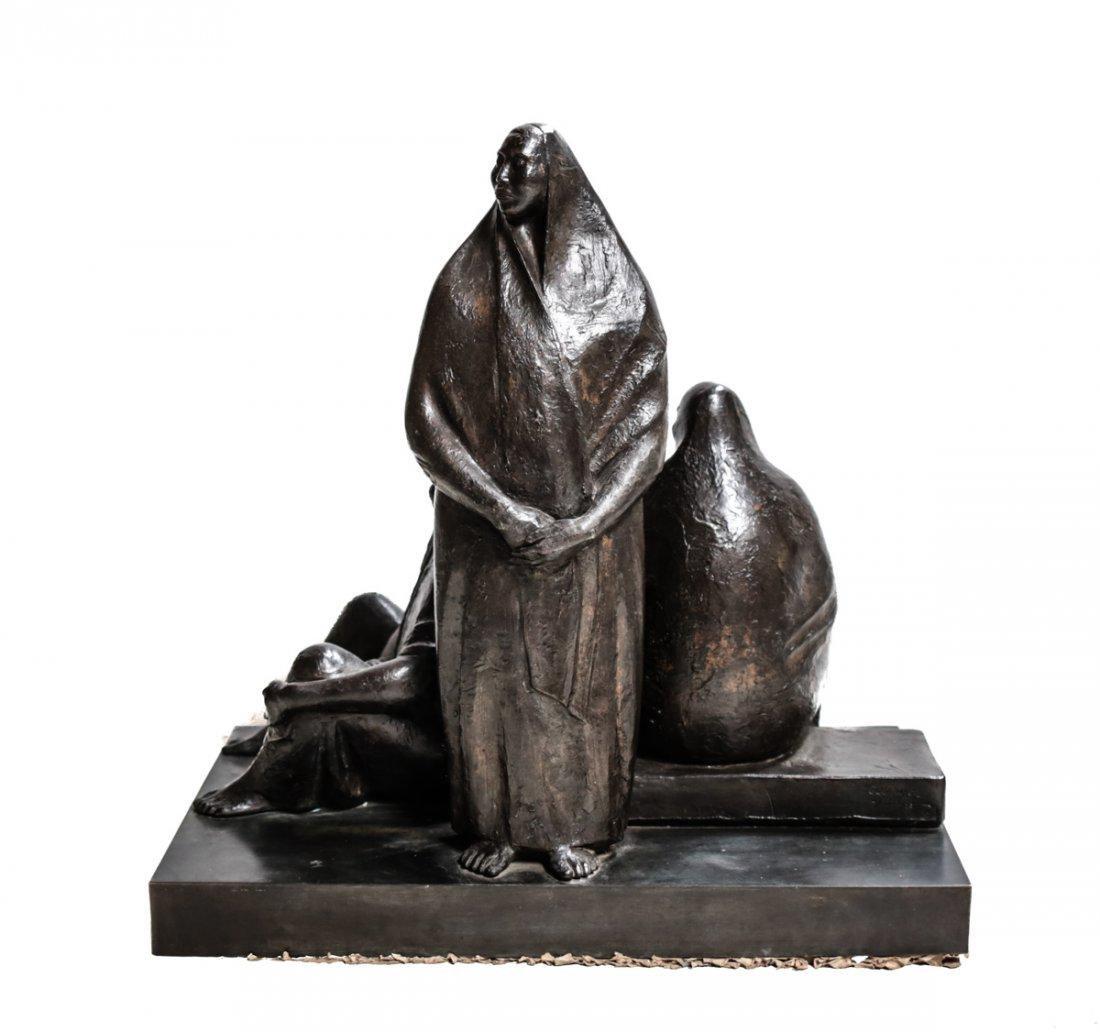Armando Amaya (Mexican, 1935) Bronze Sculpture