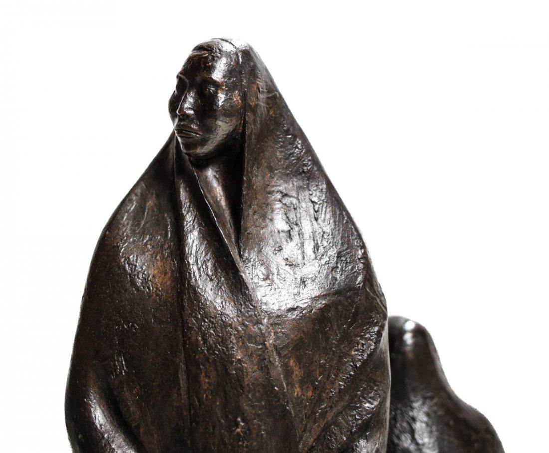 Armando Amaya (Mexican, 1935) Bronze Sculpture - 2